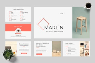 Thumbnail for Marlin - Startup Powerpoint Presentation