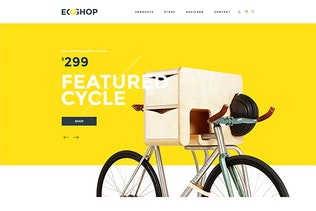 Thumbnail for ECOSHOP - Multipurpose eCommerce PSD Template