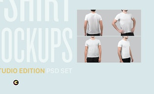 Thumbnail for T-Shirt Mockups