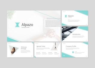 Alpazo - Keynote template