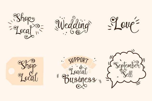 Lovely Couple - Romantic Script Font - product preview 8