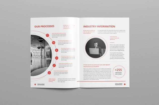 Annual Report A4 & Us Letter - product preview 8