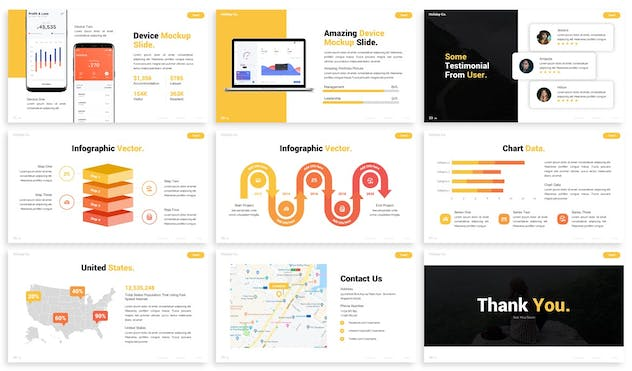 Discover - Advertising Powerpoint Template - product preview 3