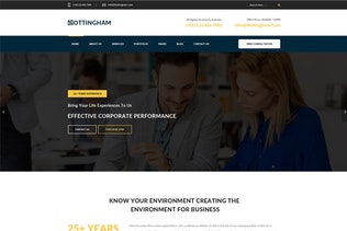 Thumbnail for Nottingham : Consultancy PSD Template