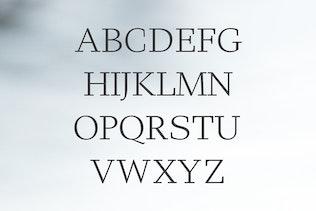 Miniatura para Haddie Moderno Con serifa Familia tipográfica