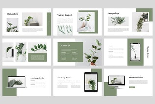 Thumbnail for Vaiesty - Creative Powerpoint Template