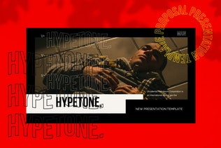 Thumbnail for Hypetone - Keynote Creative Business Company
