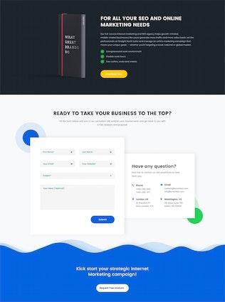 Smartket - Digital Marketing & SEO Landing Page