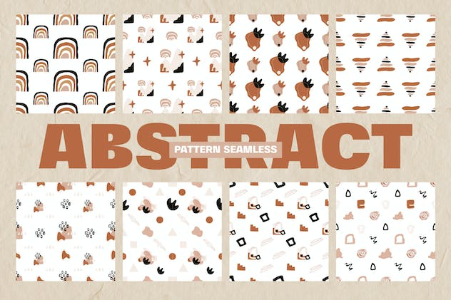 Abstract Element Shape Pattern Seamless - product preview 1