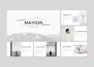 Thumbnail for Mayion Google Slides