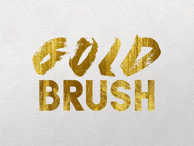 Gold Text Effects 2 - product preview 3