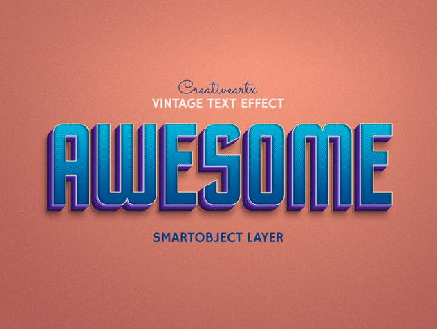 Vintage Retro Text Effects - product preview 9