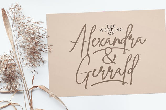 Ving Smith - Handwritten Font - product preview 6
