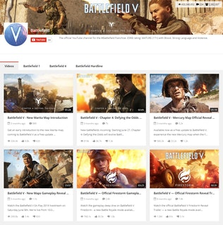 Thumbnail for Youtube Gallery - Addon For WPBakery Page Builder