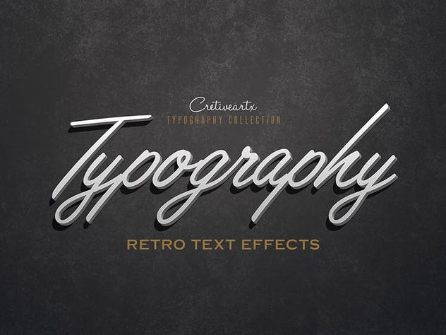 Vintage/Retro Text Effects 7 - product preview 6