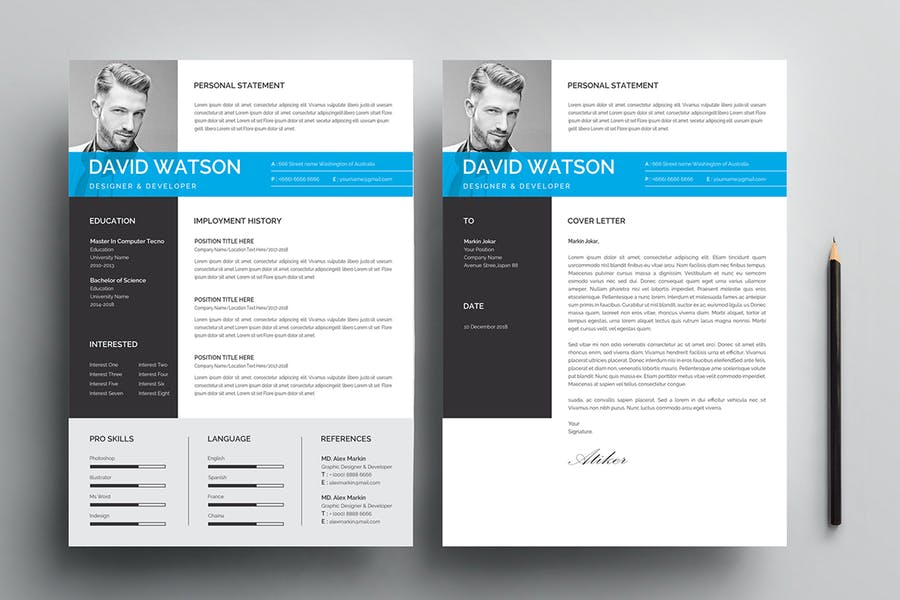 Resume Template 116 - product preview 2