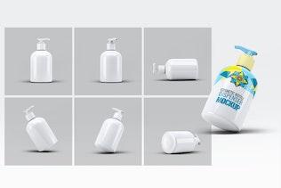 Thumbnail für Kosmetik-Flaschenspender Mock-Up V.3