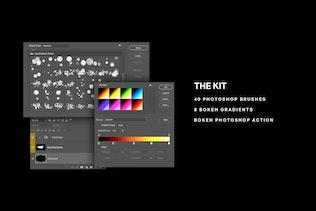 Thumbnail for Bokeh Kit for Photoshop