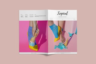 Fashion Catalog / Lookbook Brochure Template