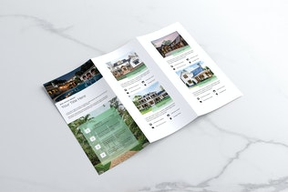 Thumbnail for Real Estate Trifold Brochure