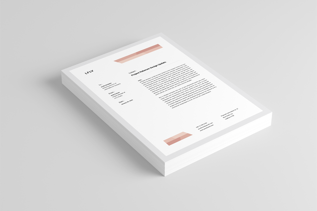 Letterhead - product preview 2