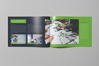 Thumbnail for Corporate Business Landscape Brochure