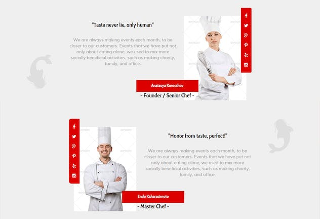 Ramen Warrior - Asian Restaurant Muse Template YR