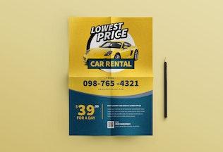 Thumbnail for Car Rental Flyer