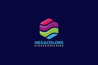 Thumbnail for Colorful Hexagon Logo
