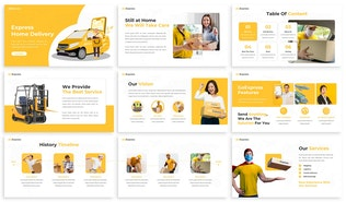 Thumbnail for GoExpress - Delivery Keynote Template