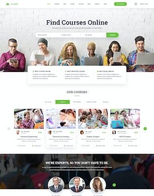 Thumbnail for Academ   Multiconcept College & Education PSD Temp