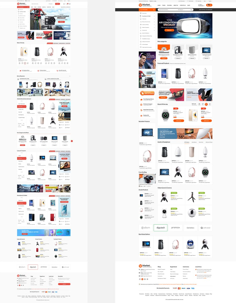 Themes Market Responsive Prestashop 1.7 - product preview 4
