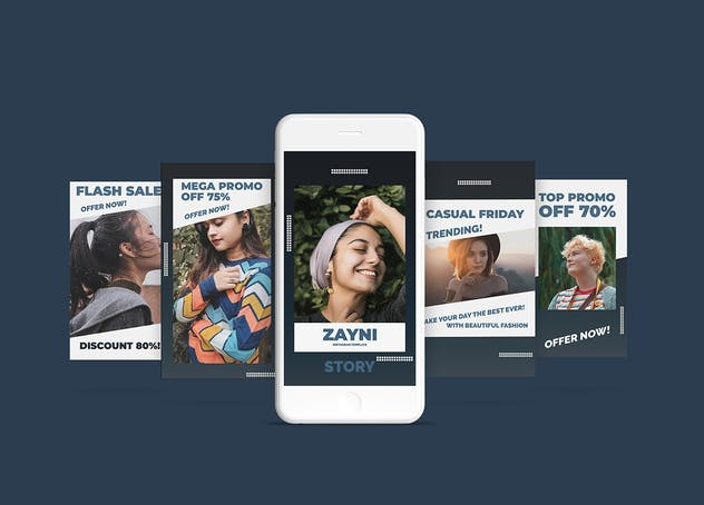 Zayni - Fashion Social Media Story Part 8 - product preview 2