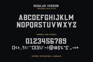 Posey - Vintage Type   4 Font Files