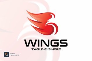 Thumbnail for Wings - Logo Template