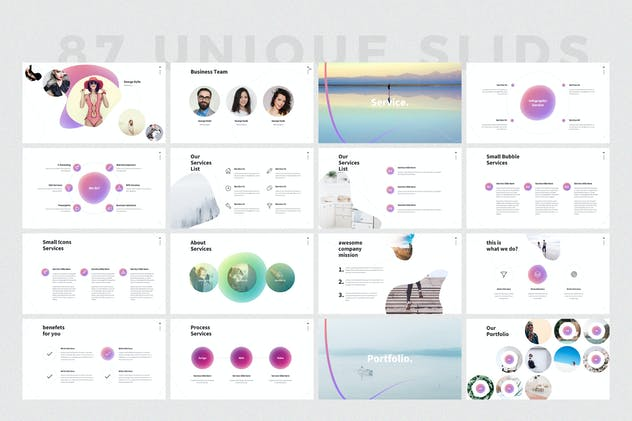SHAPER Powerpoint Template - product preview 3