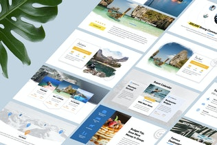 Thumbnail for TRIPAGO - Travel Business Powerpoint Template