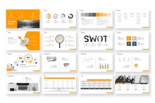 Thumbnail for Business Proposal PowerPoint Template