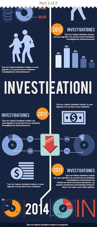 Timeline Infographics PSD Template Set