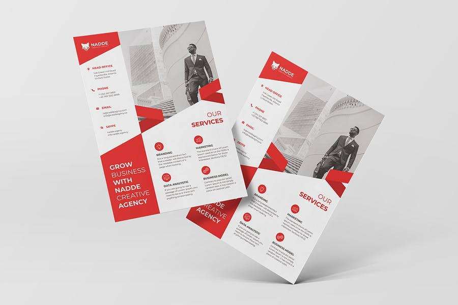 Corporate Flyer - product preview 1