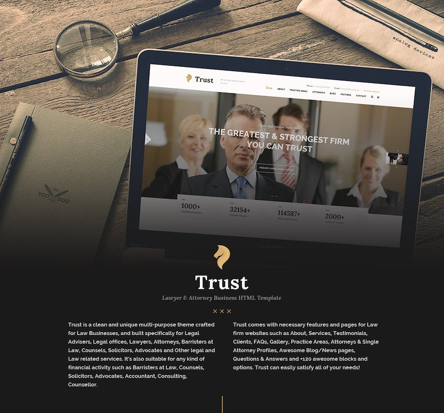 Attorney & Law | Lawyers HTML5 Responsive Template by BuddhaThemes ...