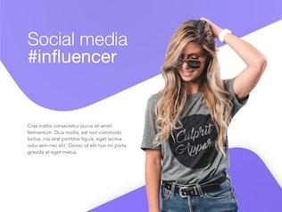 Thumbnail for Influencer Marketing Google Slides