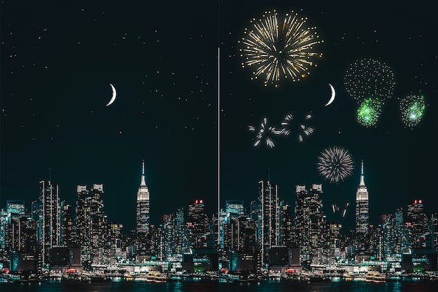 100 Firework Overlays - product preview 2