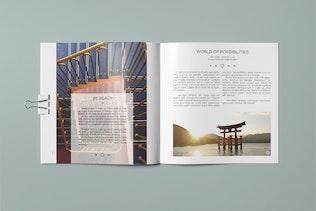 Thumbnail for Multipurpose Square Brochure