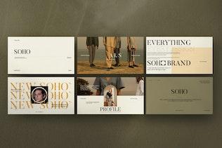Soho - Creative  Marketing Powerpoint