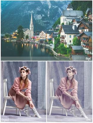 Thumbnail for 50 Premium Matte Photoshop Actions