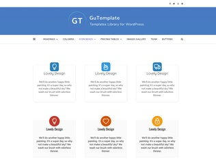 Thumbnail for GuTemplate - Pro Templates Library for WordPress