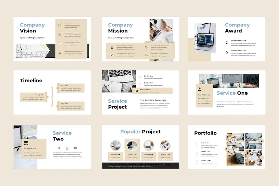 Solusis - Business Powerpoint Presentation - product preview 2