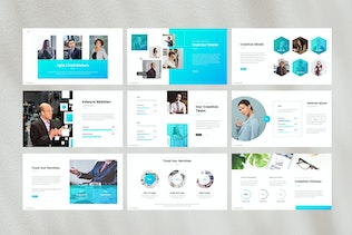 Thumbnail for Business Corporate Google Slides Template