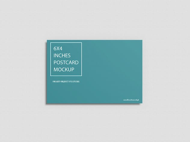 Postcard Mockup - product preview 3